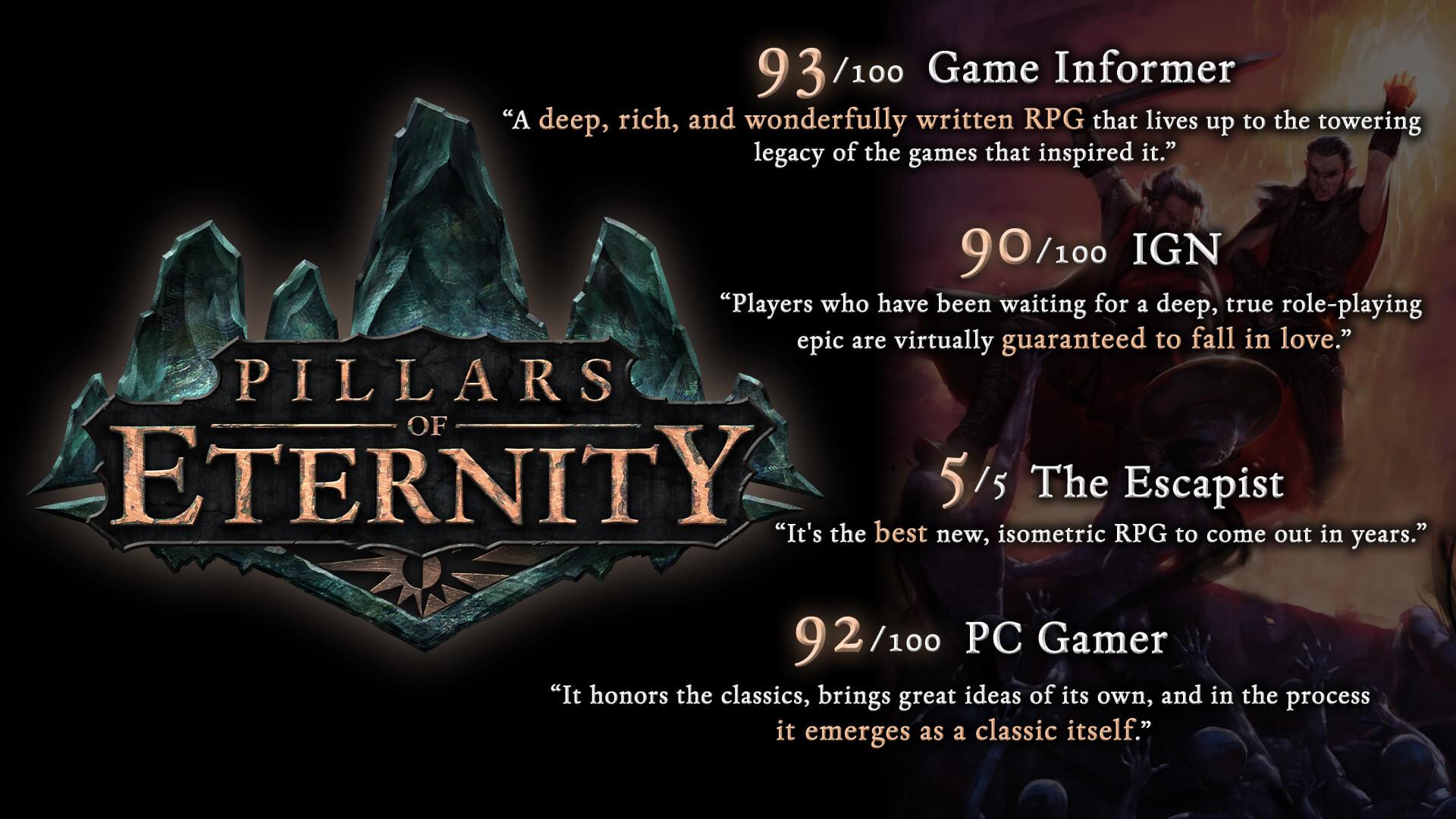 pillars of eternity gog version