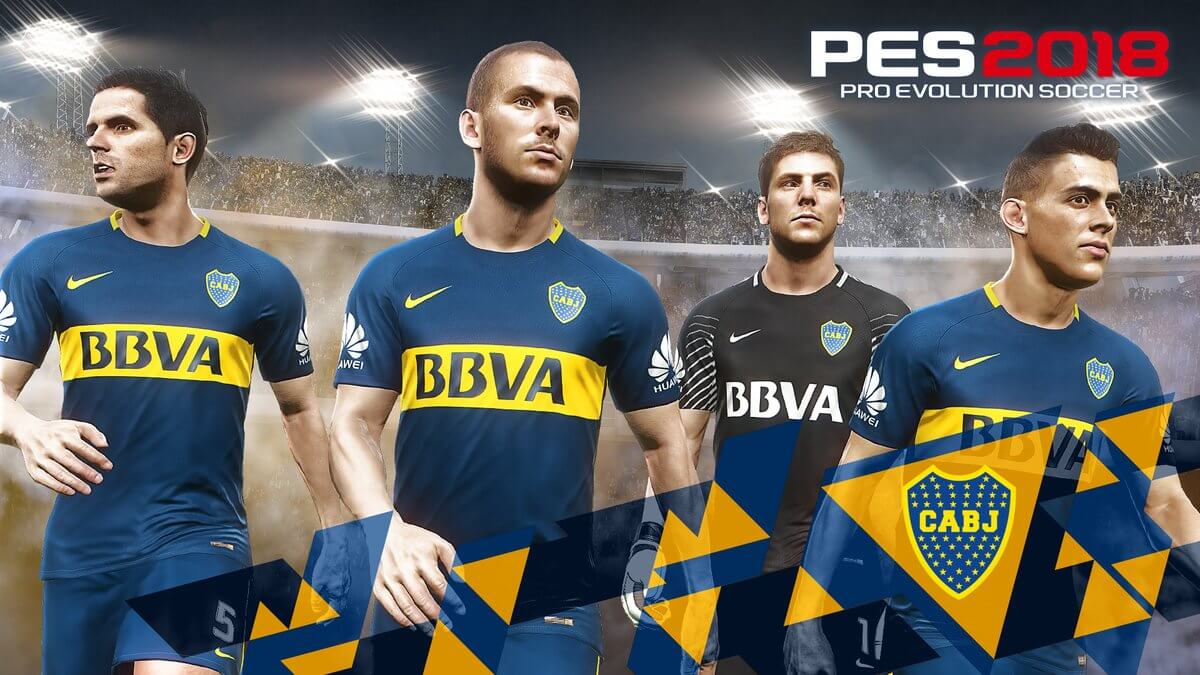 494c4d9a0 PES 2018 Partners With Argentine Football Association