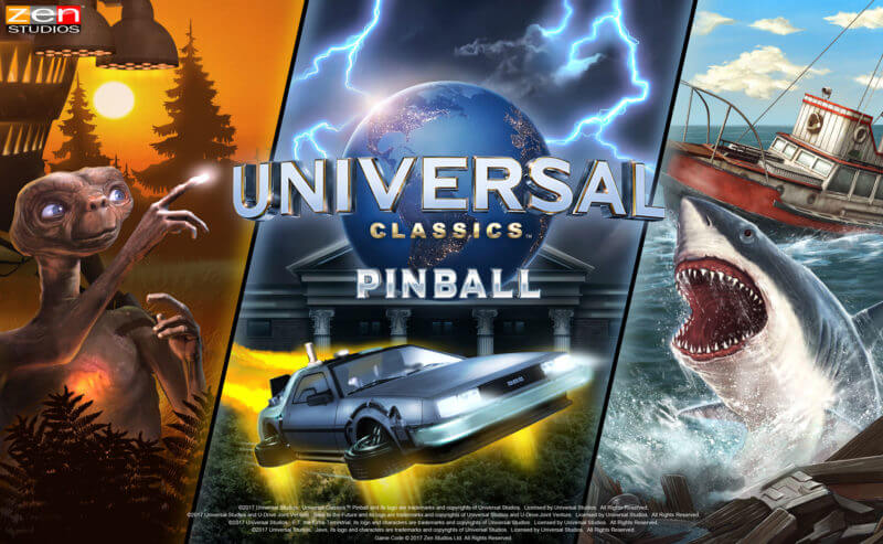Jaws, E T  and Back to the Future Announced as Pinball FX3