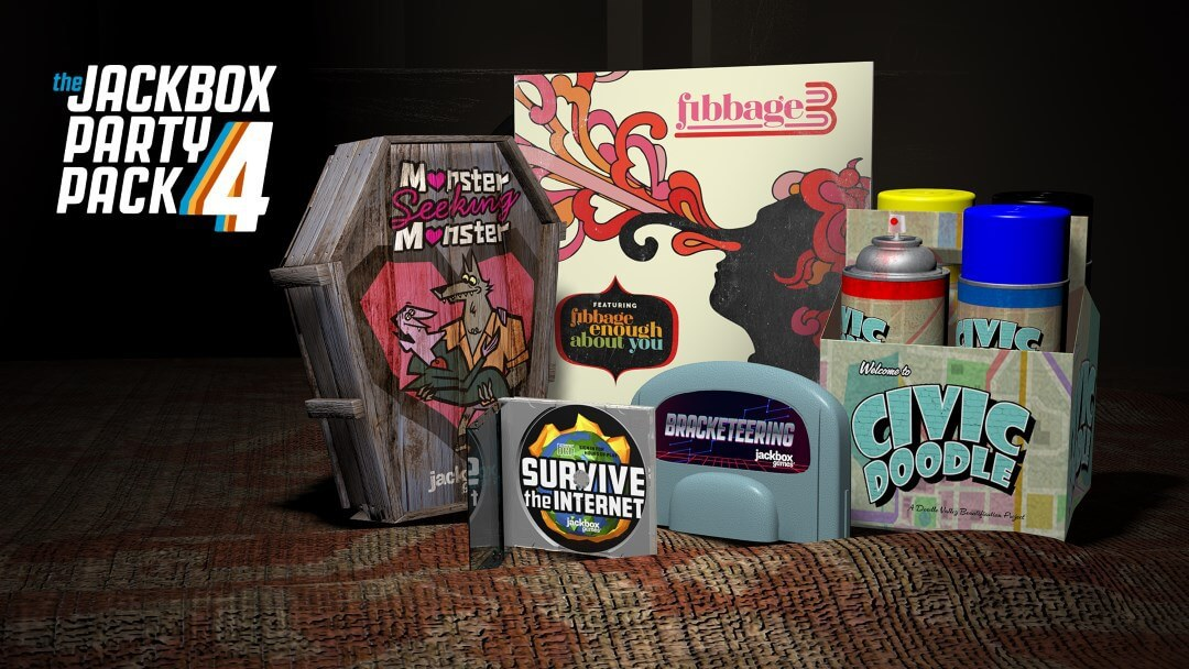 Het Jackbox-feestpakket 4
