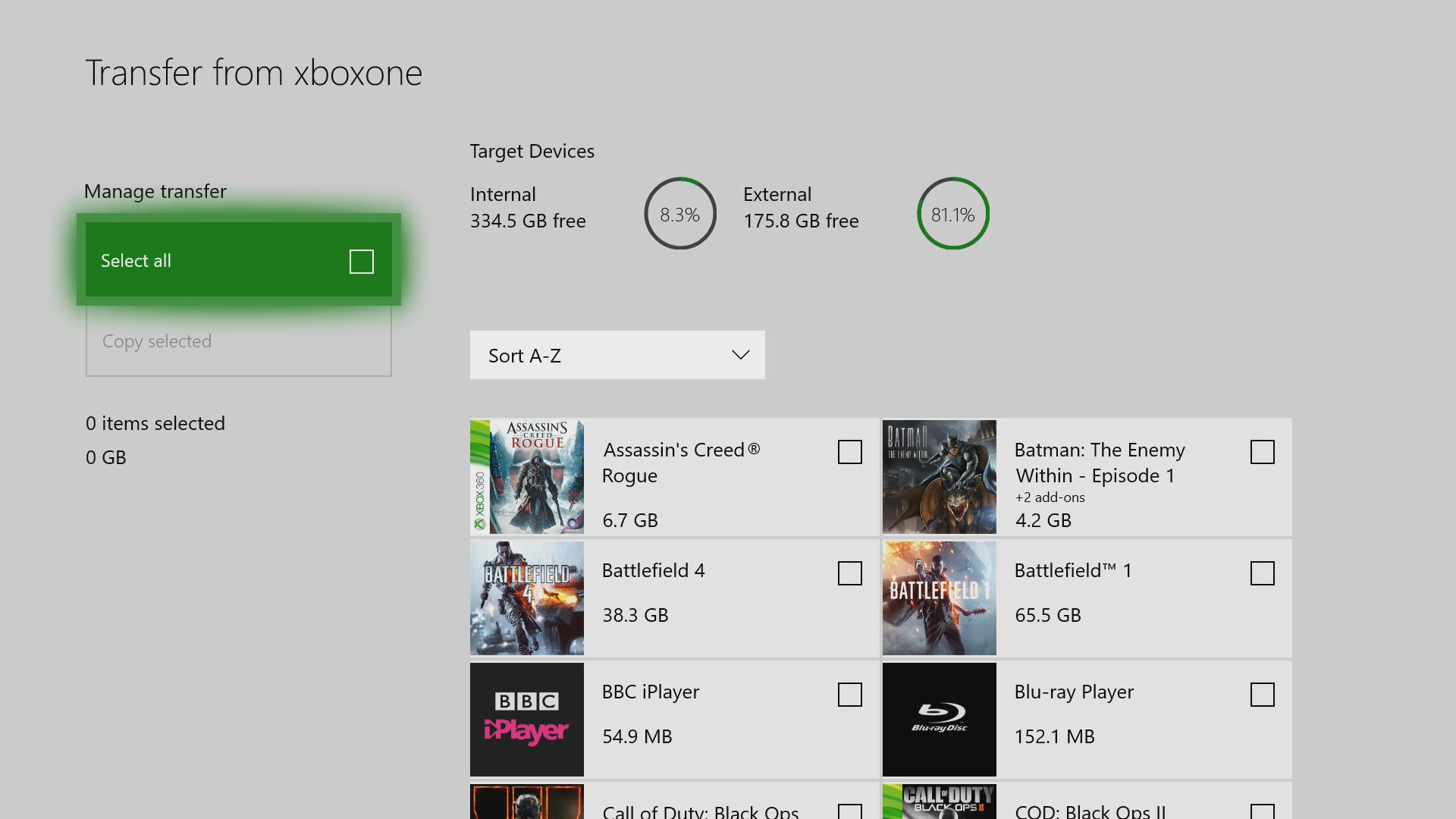 Insiders Can Now Copy Xbox One Game and Apps Using Network Transfer ...