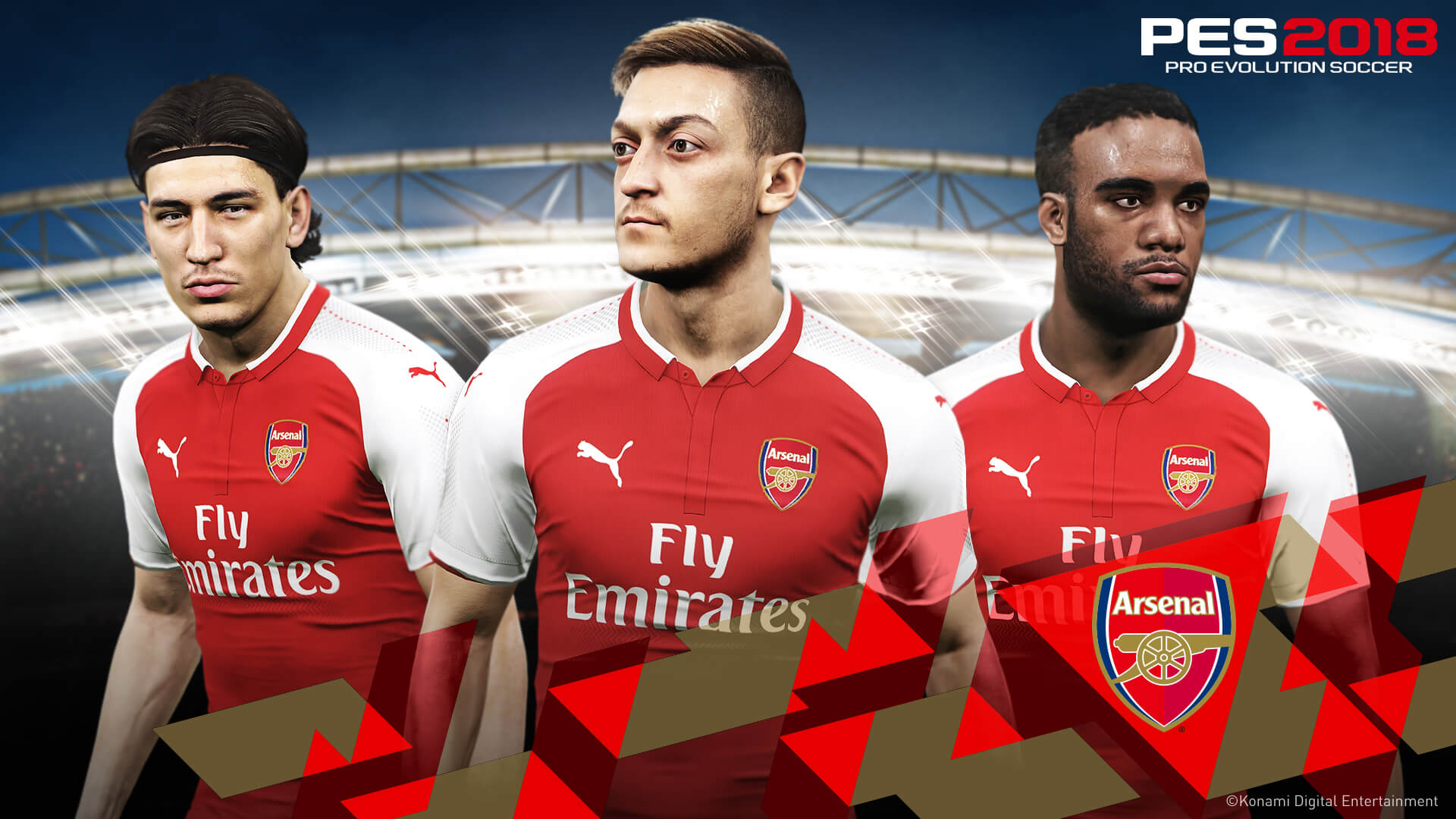 a7f2b6d46 Arsenal And Konami Team Up For Pro Evolution Soccer