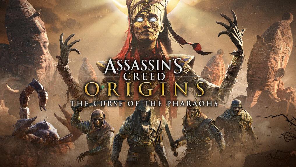 Assassin S Creed Origins The Curse Of The Pharoahs Trailer