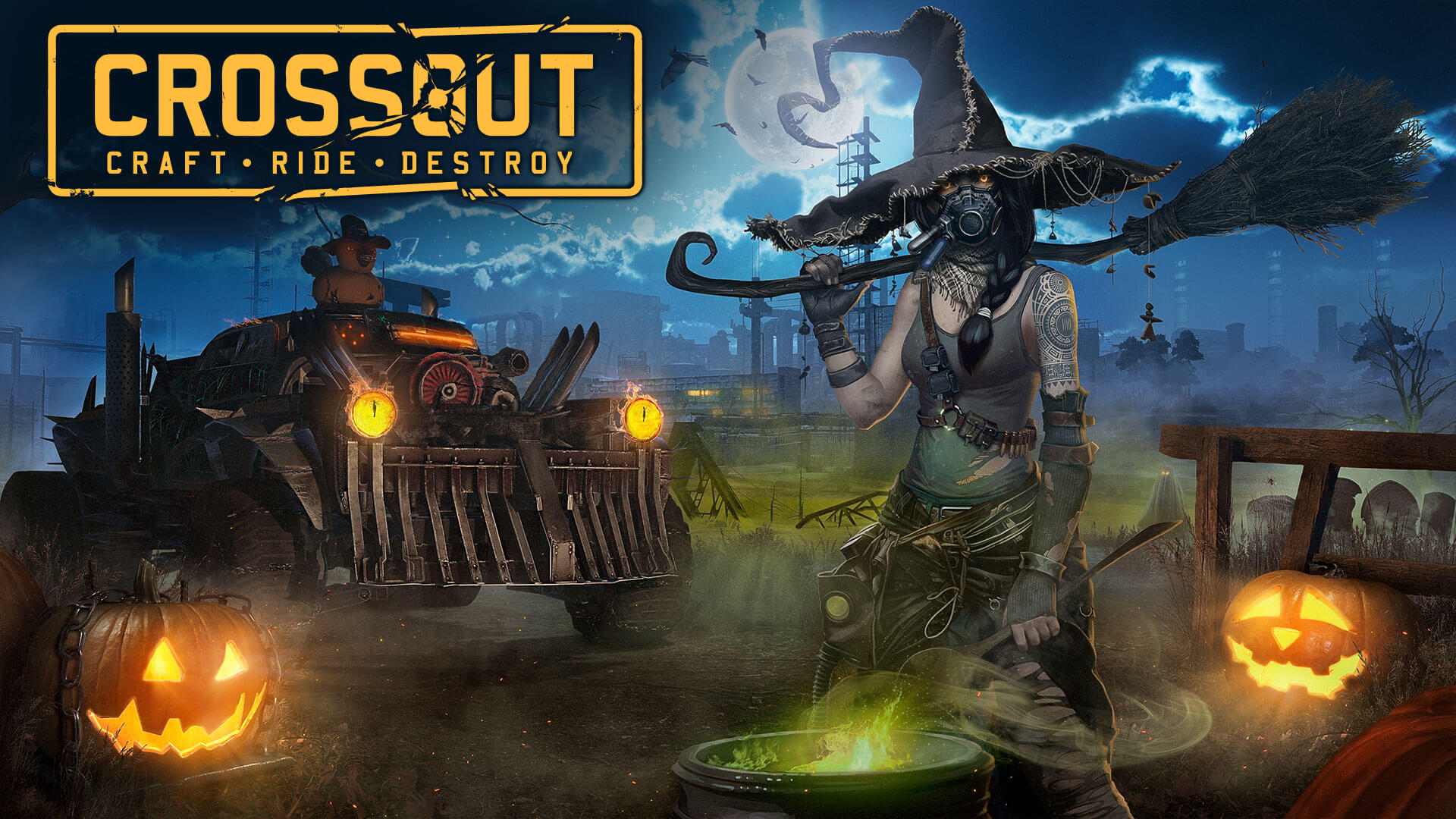 Crossout Is Taking Halloween Deadly Serious In Their Latest Update