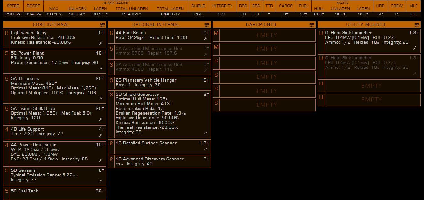 Asp Explorer Build