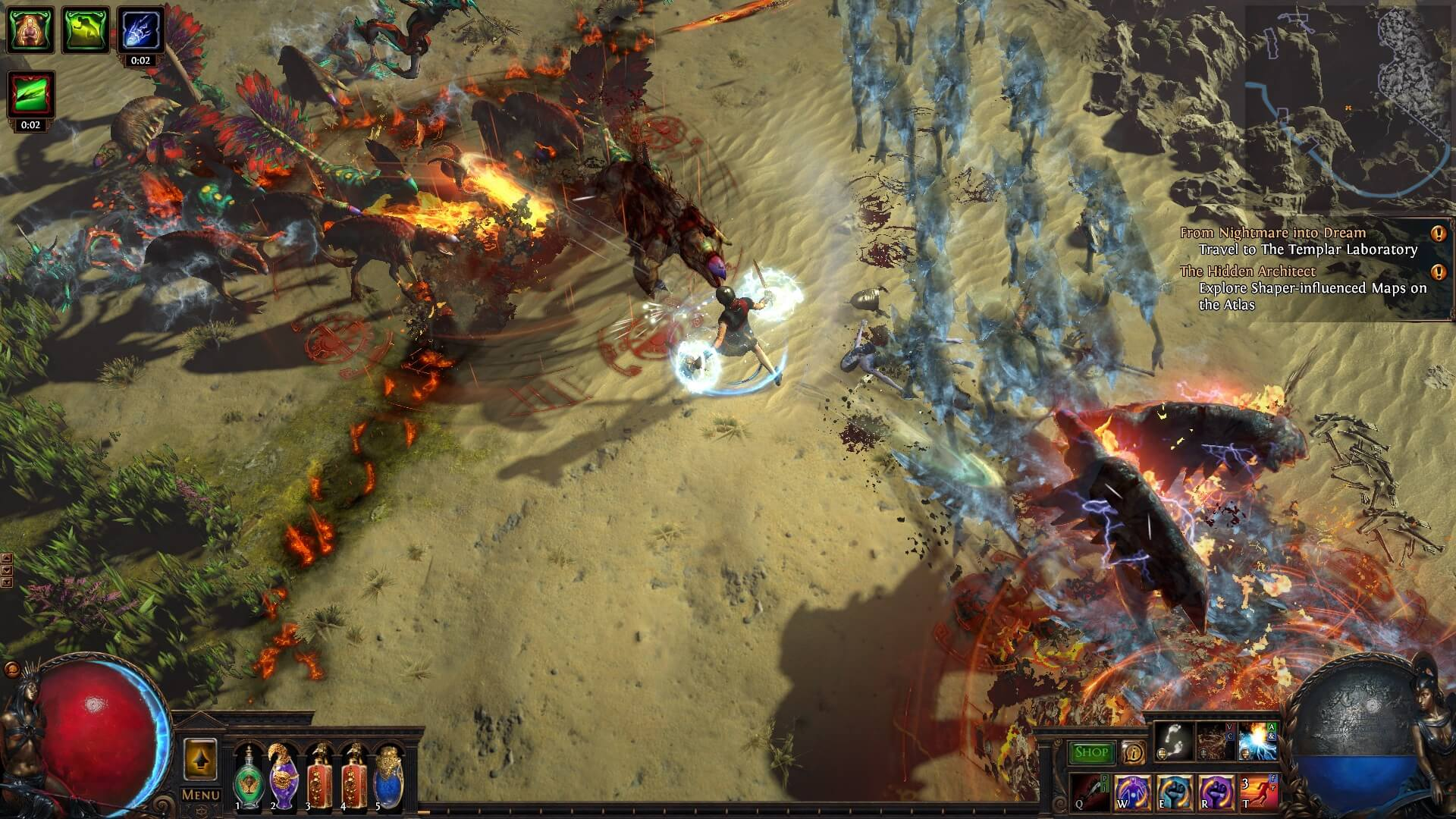Path Of Exile Trailer Shows Off Bestiary Challenge Rewards