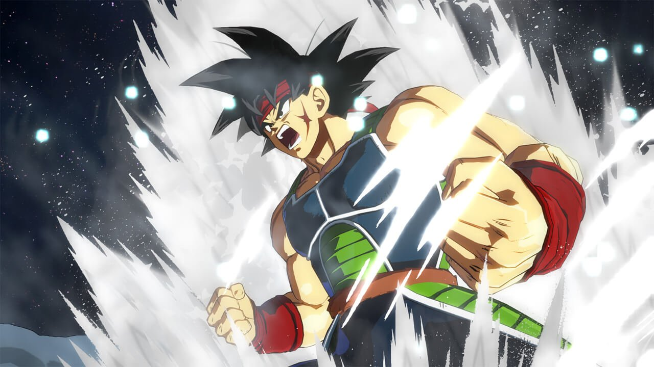 Dragon Ball FighterZ Bardock Entrance