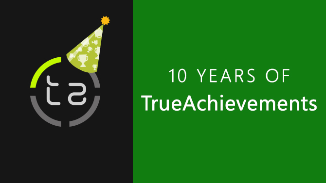 10 Years of TrueAchievements
