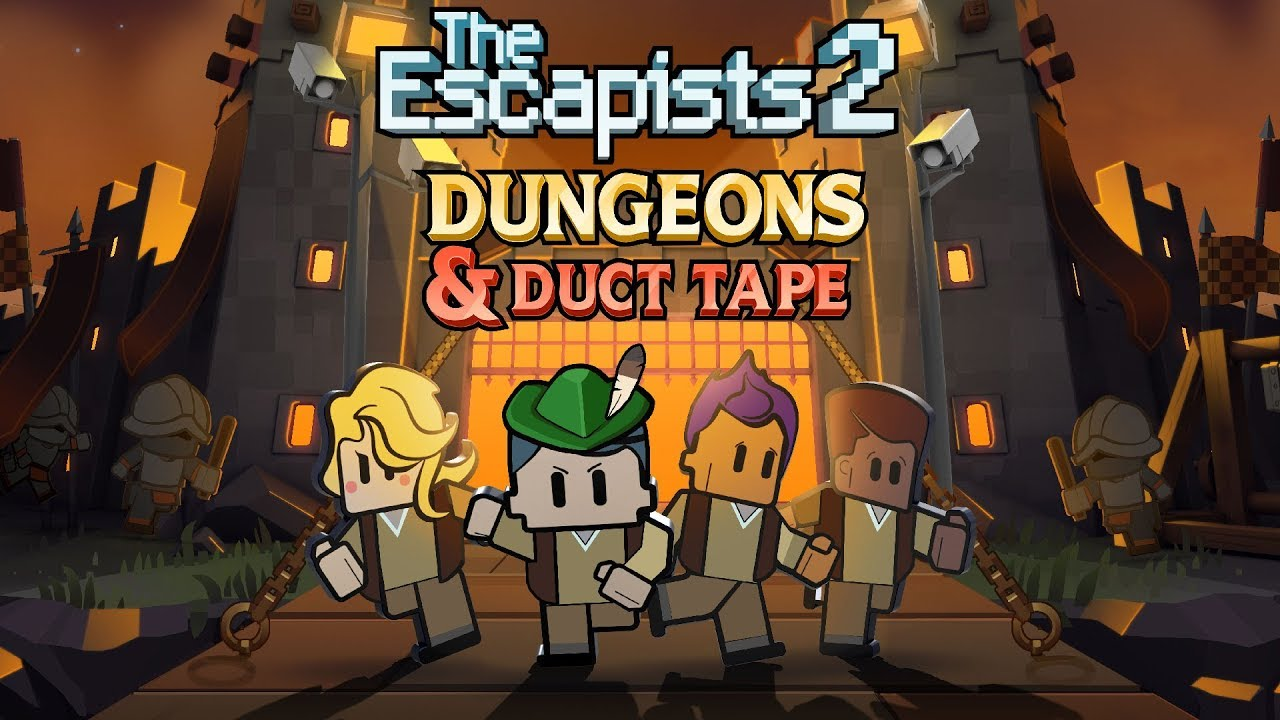 The Escapists 2 Dungeons And Duct Tape Dlc Available Now
