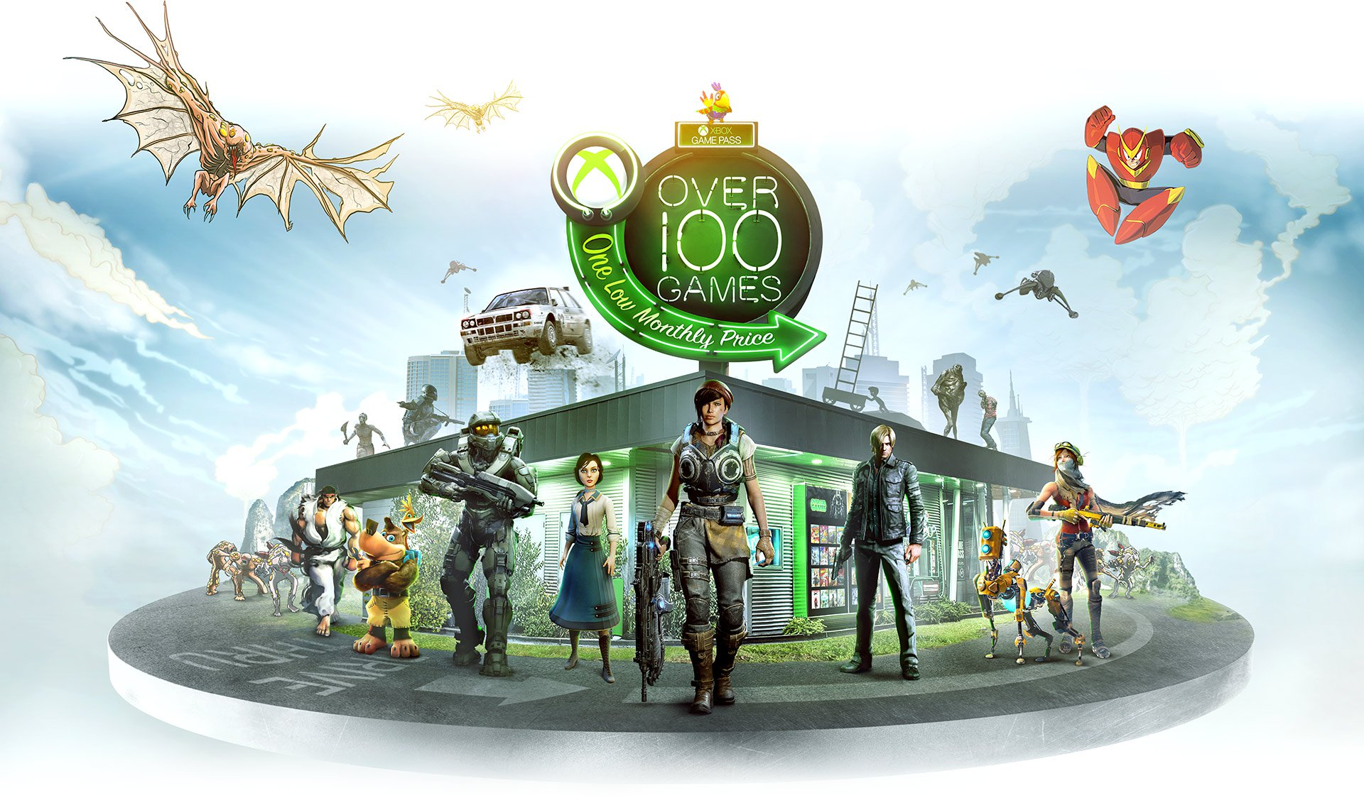 Fallout 4, The Elder Scrolls Online, and The Division Come to Xbox