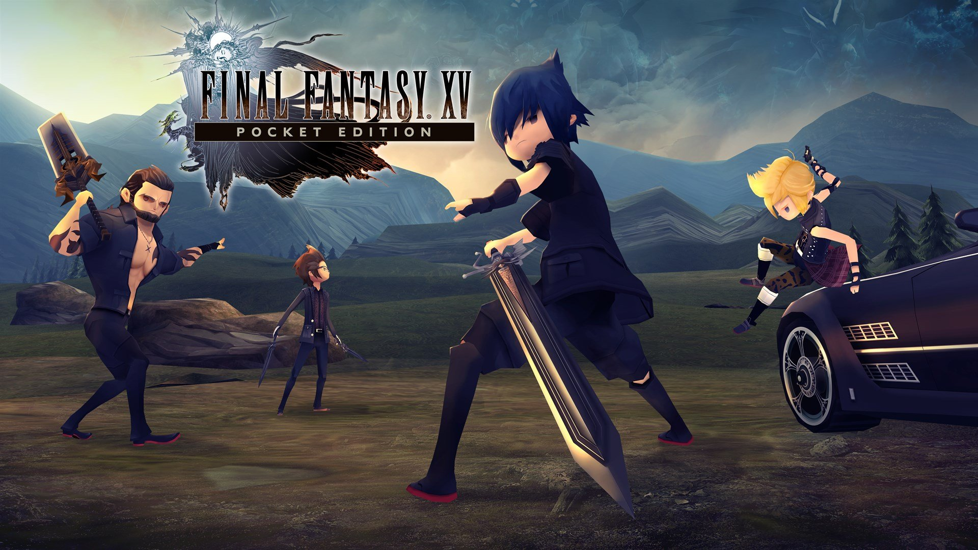 Final Fantasy Xv Pocket Edition Win 10 Achievement List Revealed