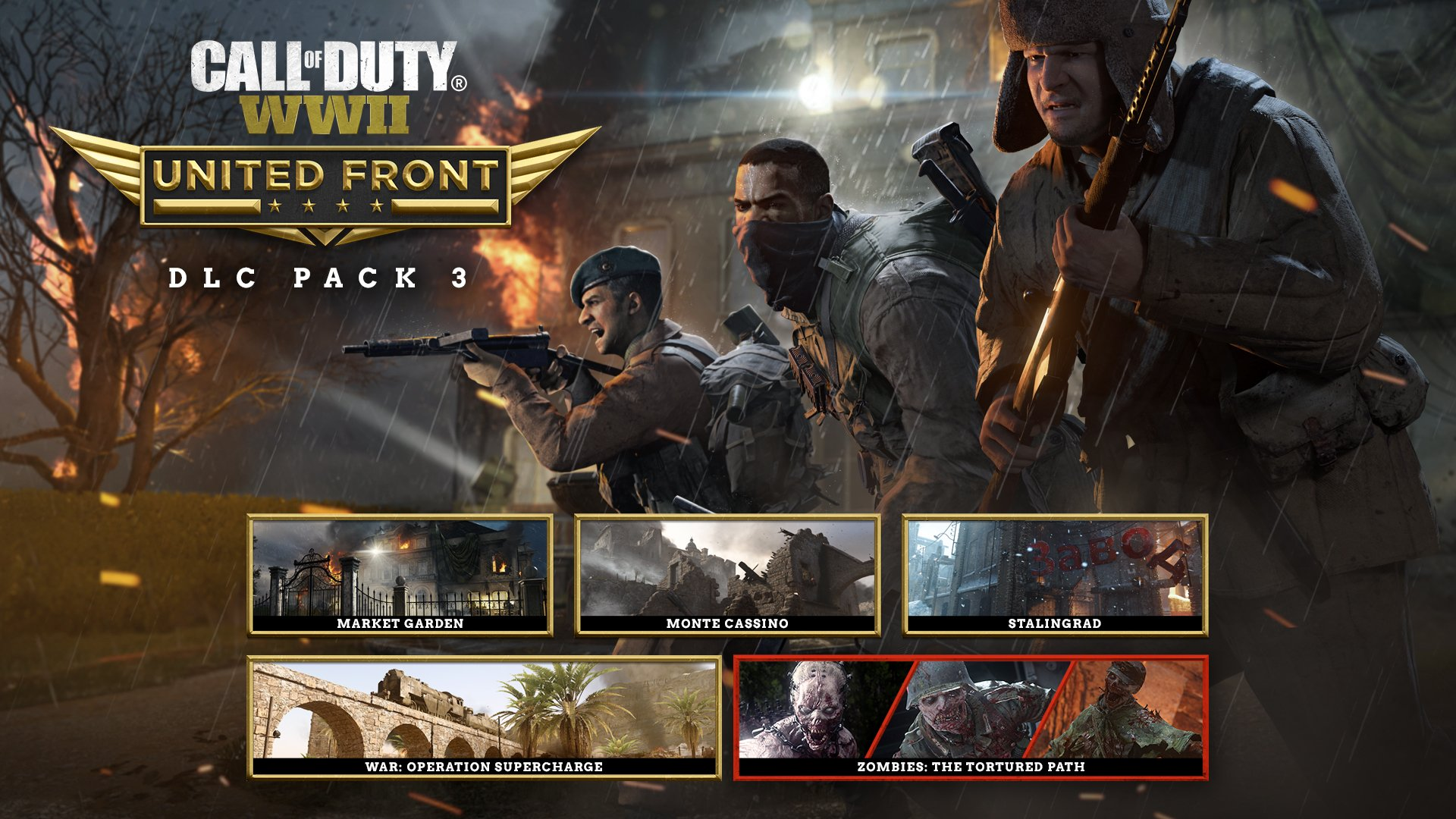 We Have Just Picked Up The Achievement List For United Front Dlc Call Of Duty Wwii
