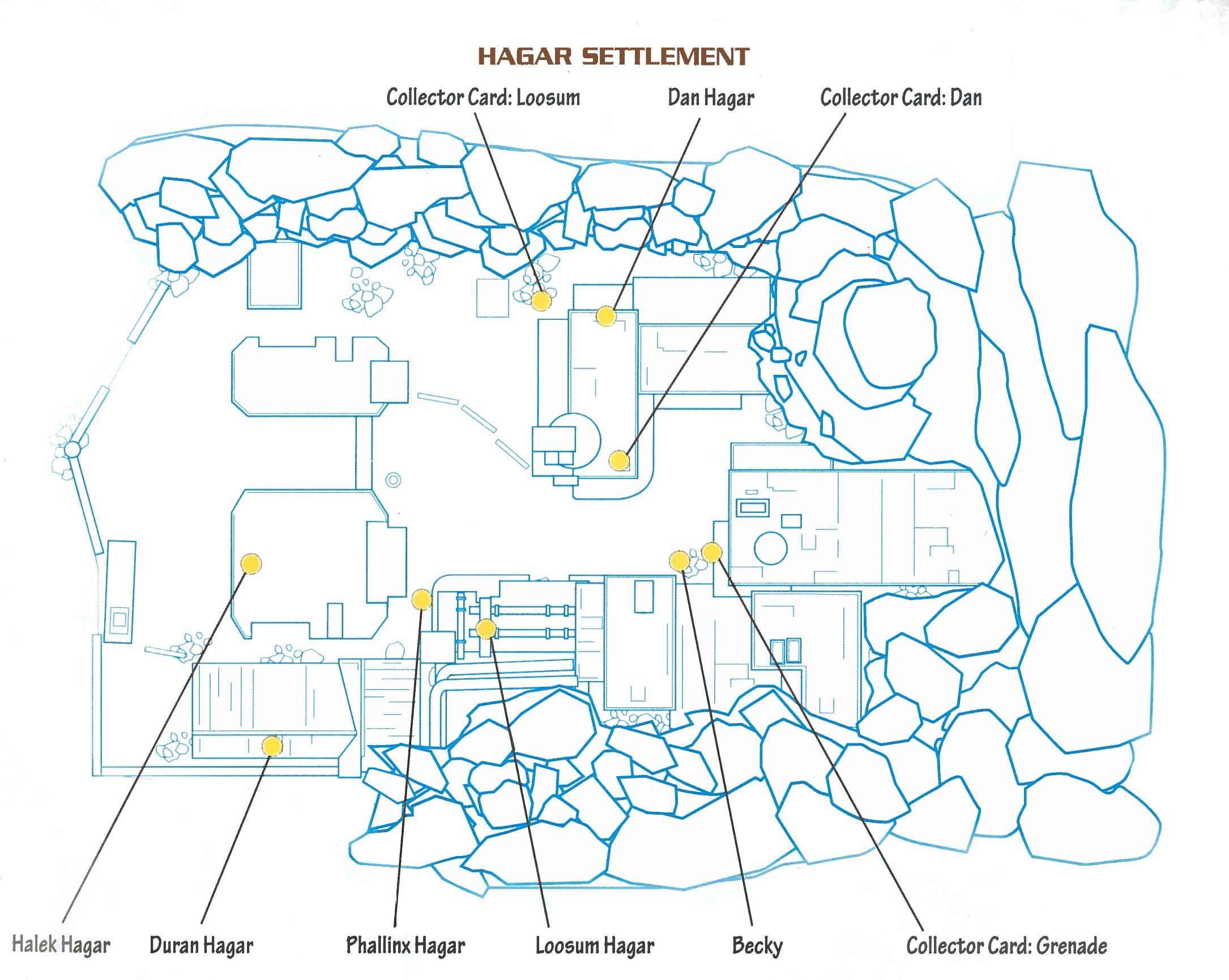Map #01 - Hagar Settlement
