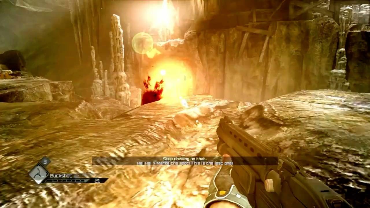 Screenshot Rumbles In The Dark