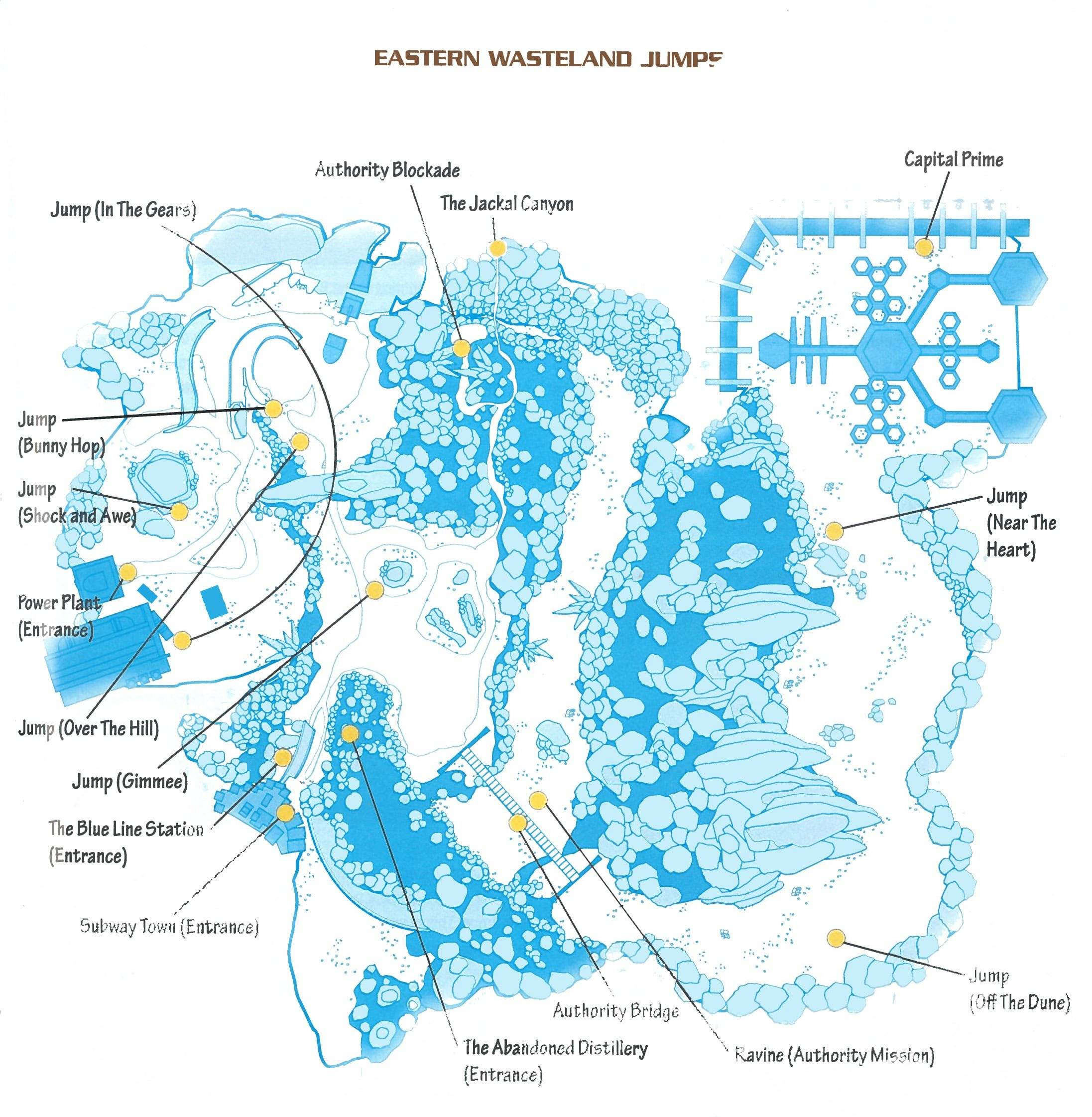 Jumps - Eastern Wasteland