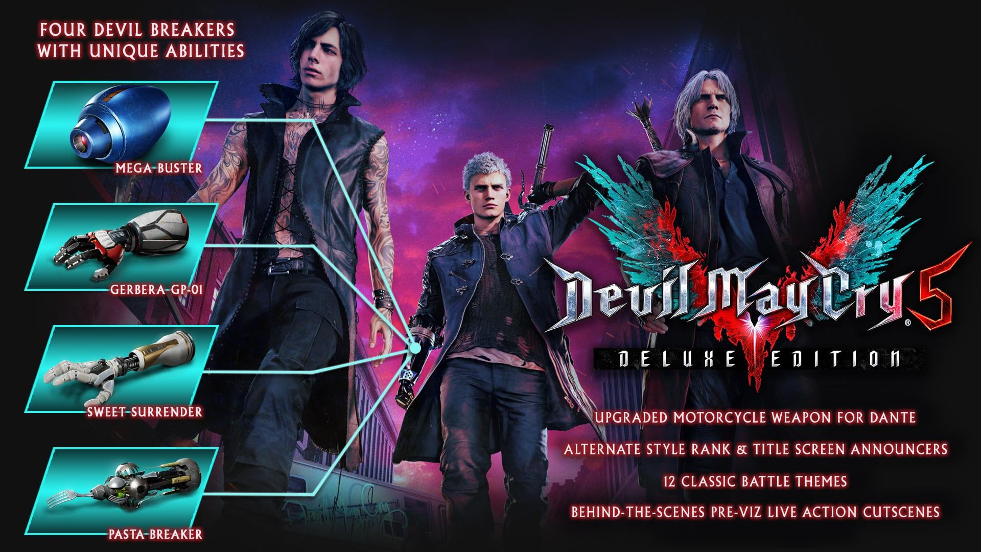 Devil May Cry 5 Deluxe Edition Breakdown