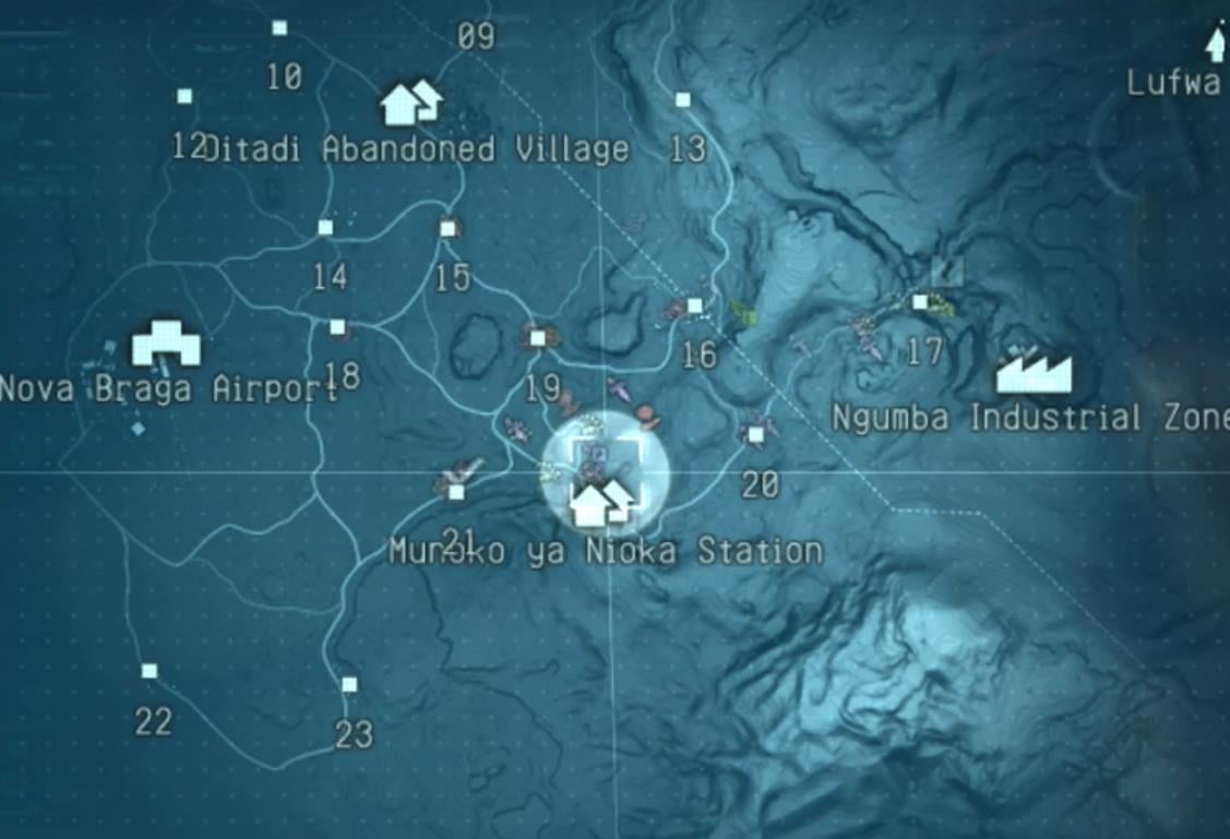 Place cage in trash pile by cliffs north of Munoko ya Nioka Station; confirmed field spawn in Main Ops 24