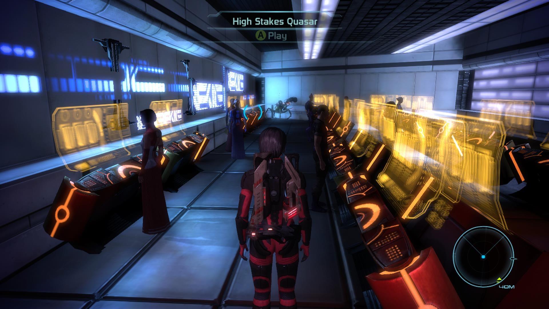 Me3 Quasar Exit
