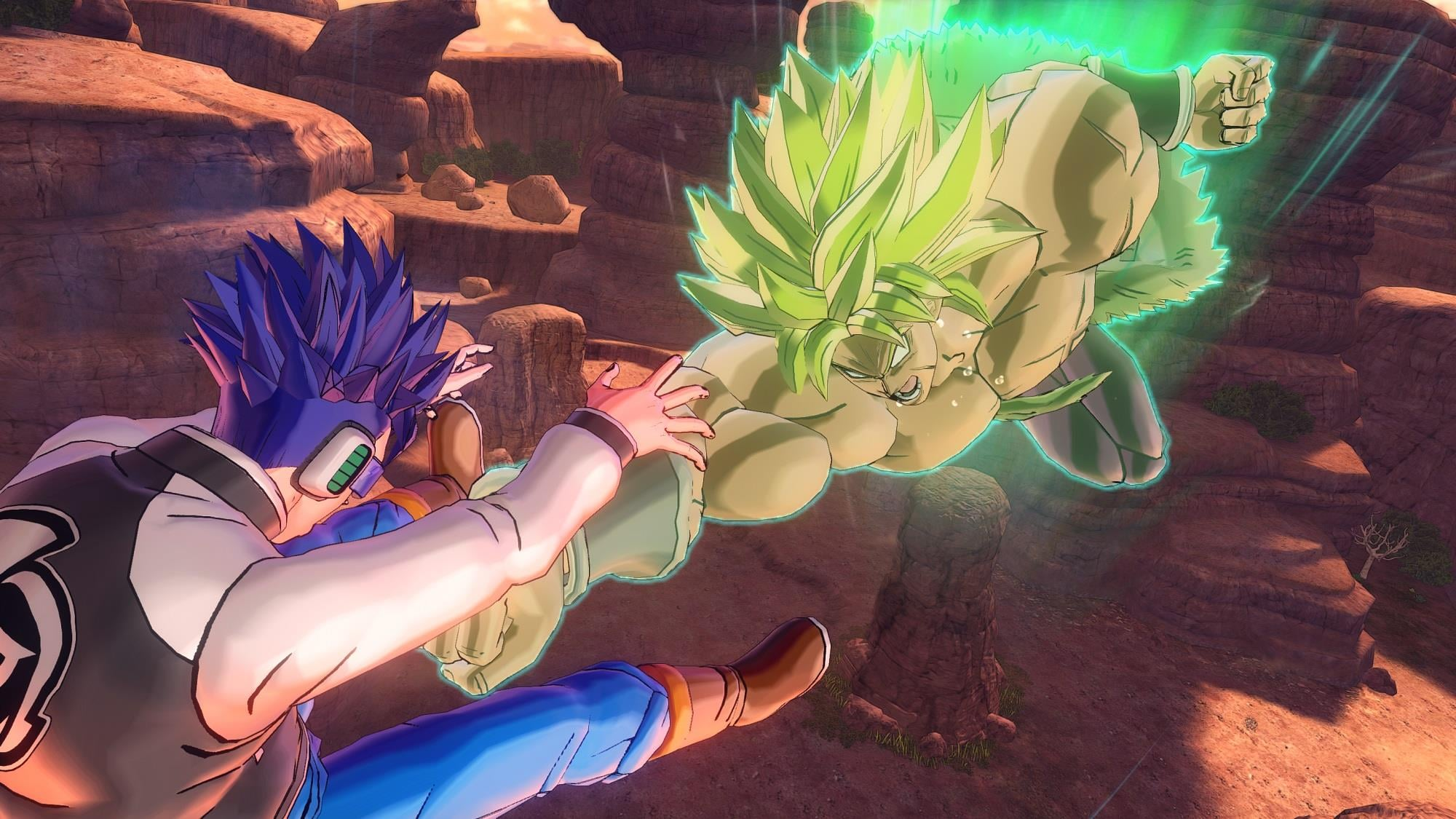 Super Saiyan Full Power Broly Coming to Dragon Ball Xenoverse 2