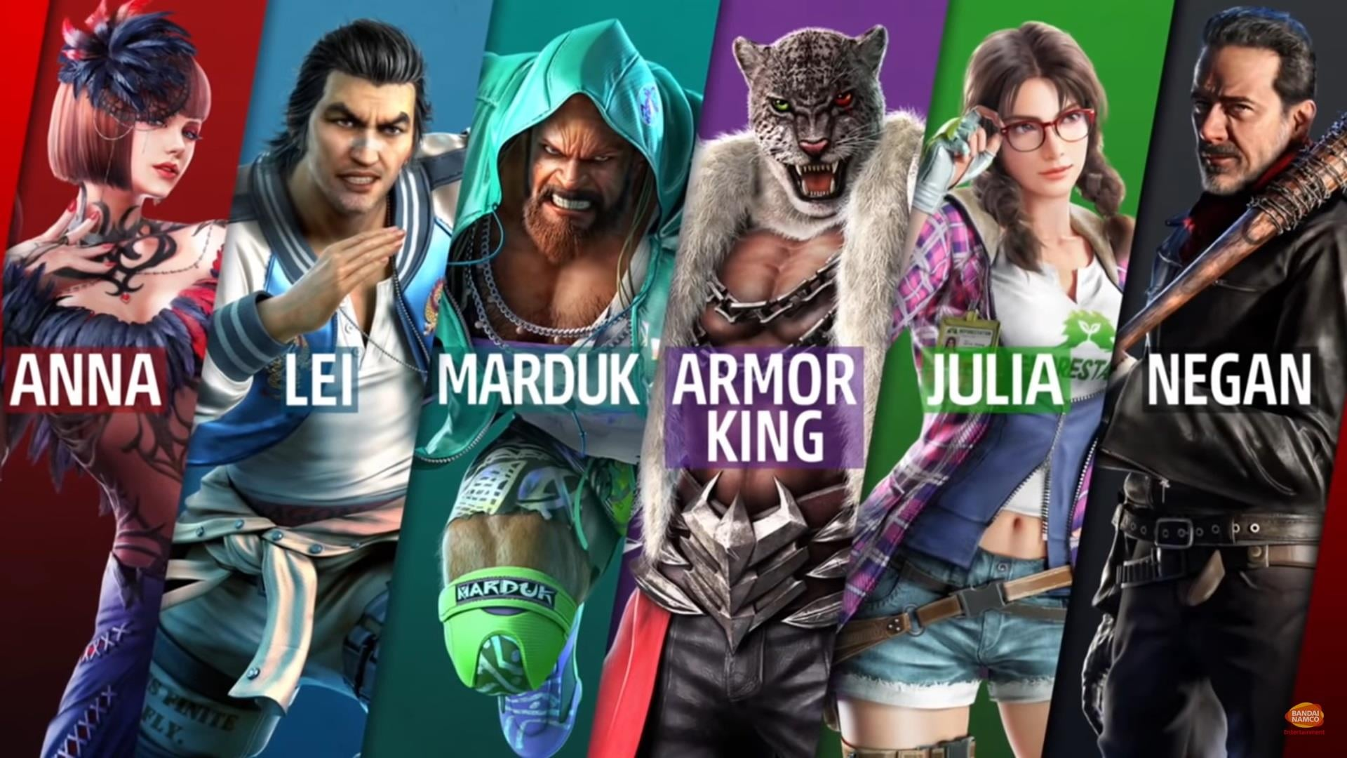 tekken 7 characters wallpaper
