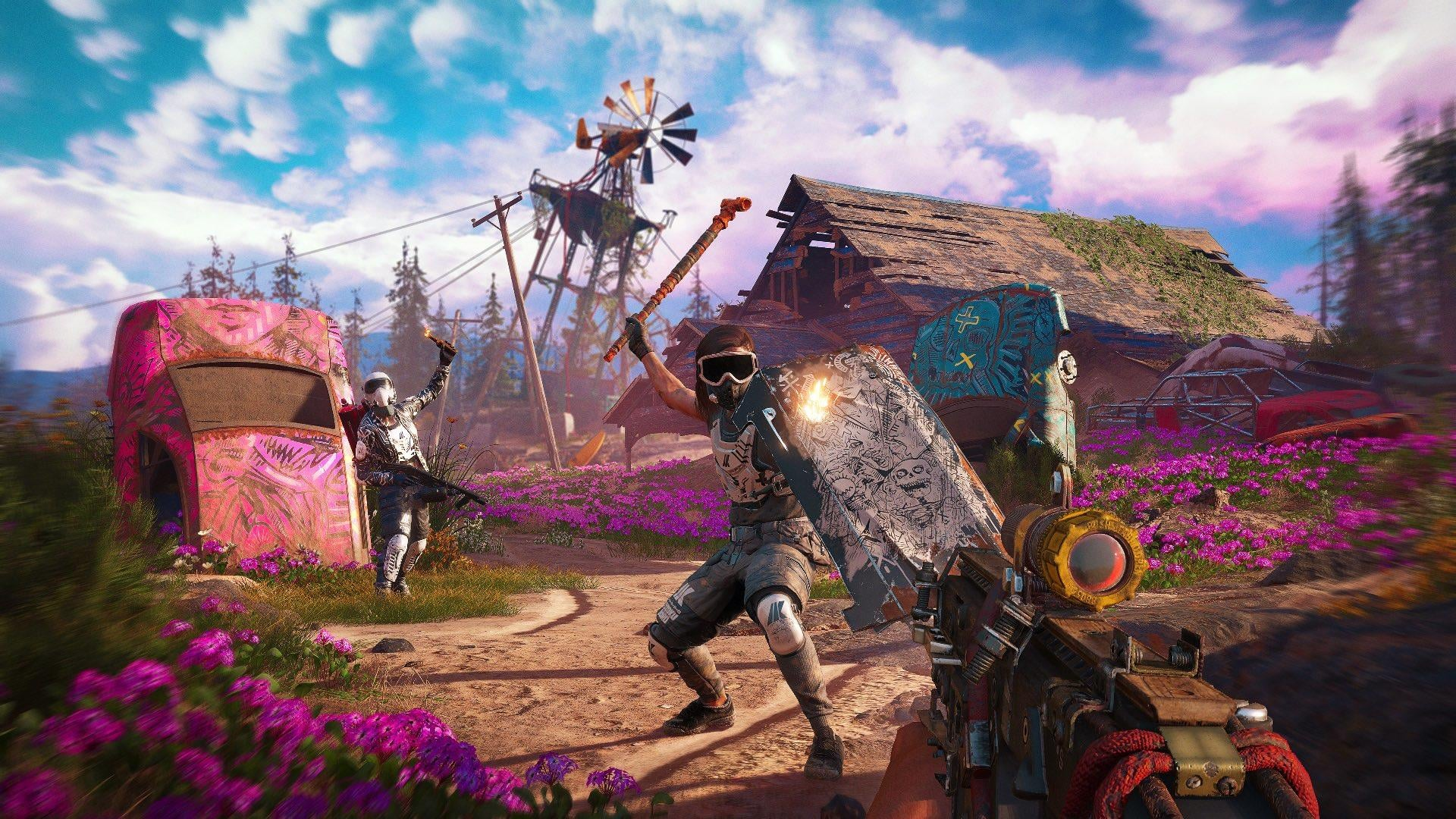 Far Cry New Dawn Screenshots And Post Apocalyptic Video Gameplay