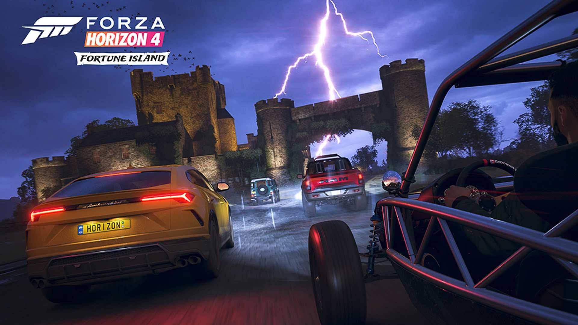 Exclusive: Forza Horizon 4's Fortune Island Expansion Achievement
