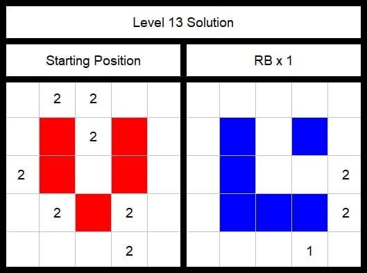 Level 13 Solution