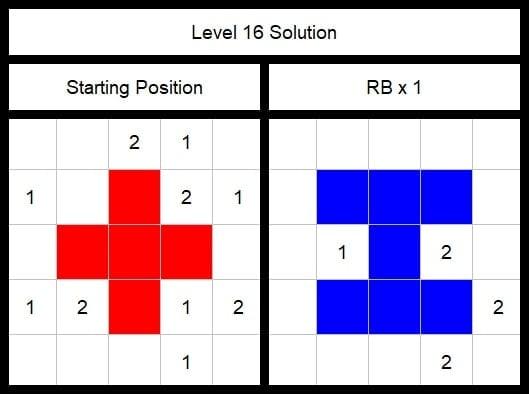 Level 16 Solution