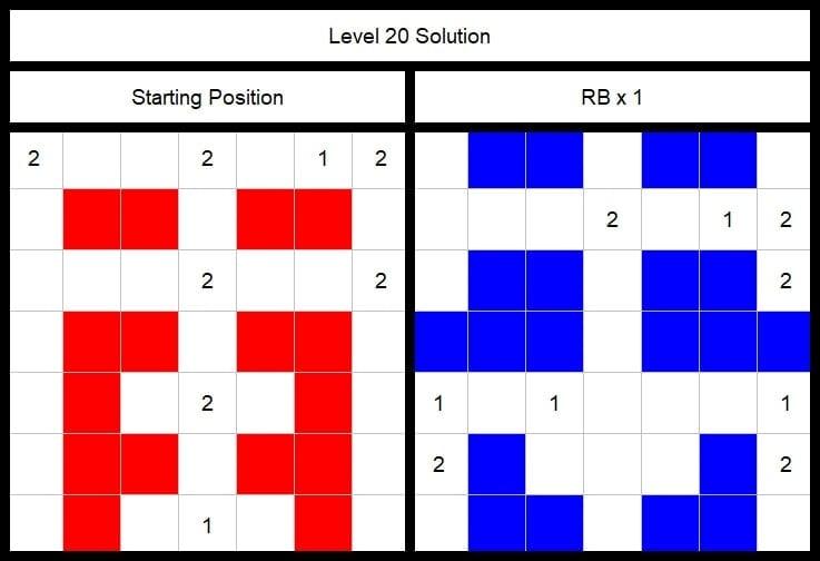 Level 20 Solution