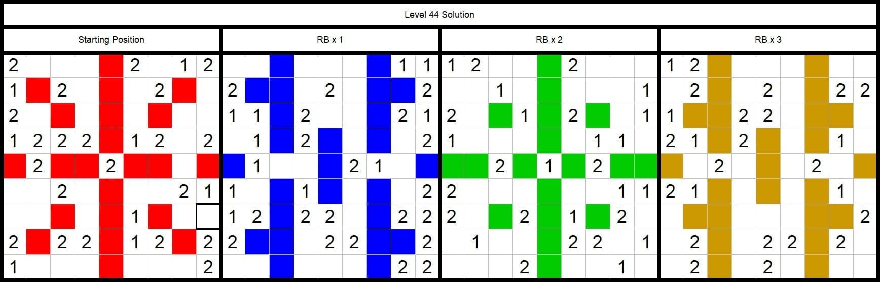 Level 44 Solution