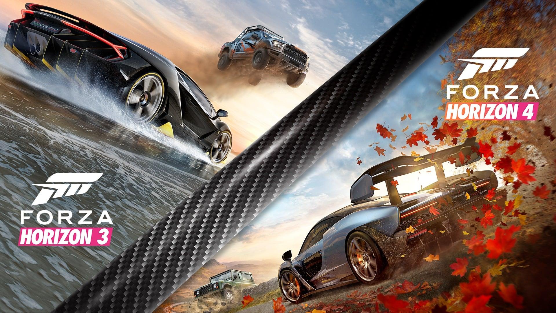 Forza Horizon 4 and Forza Horizon 3 Bundle Releasing 5th