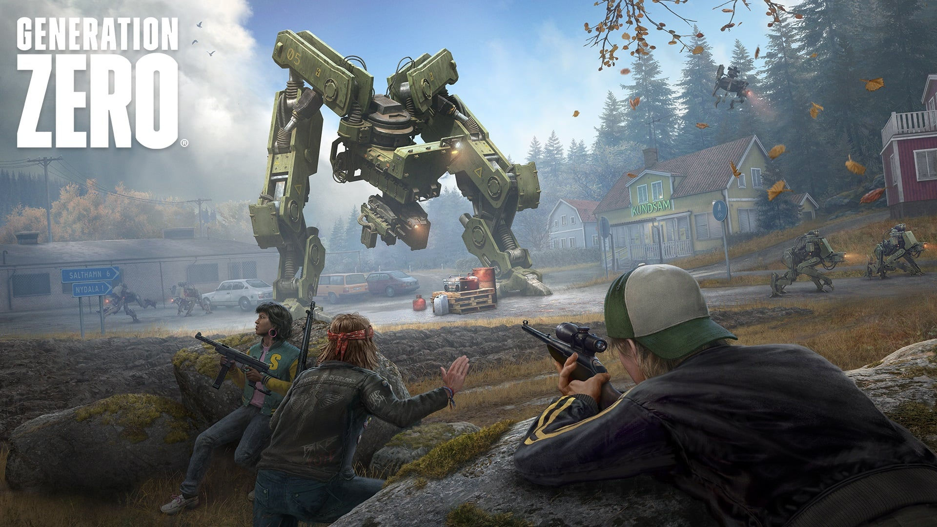 Free Play Days: Generation Zero is Free to Play This Weekend