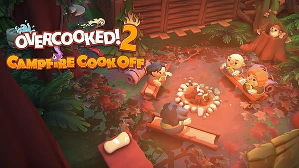 Overcooked! 2 Campfire Cook Off DLC Chefs Revealed