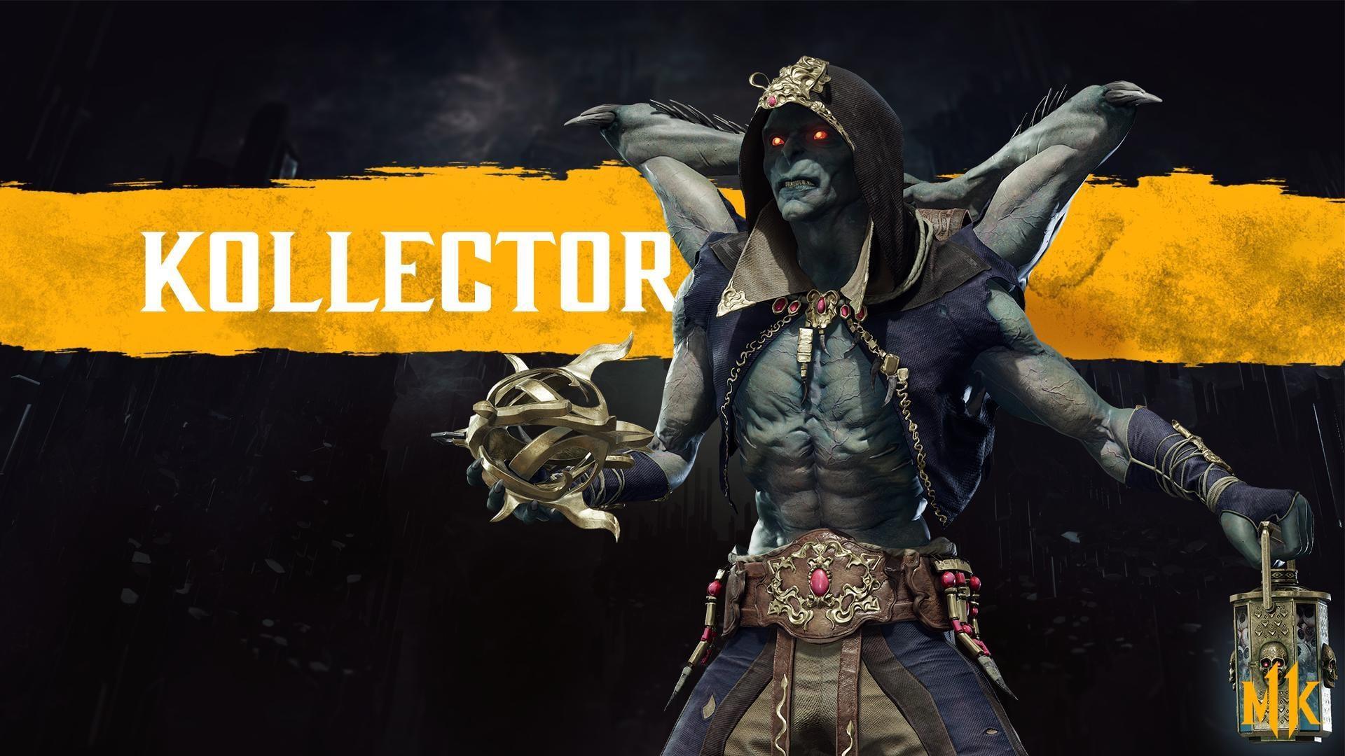 Mortal Kombat 11 Reveals New Character Kollector