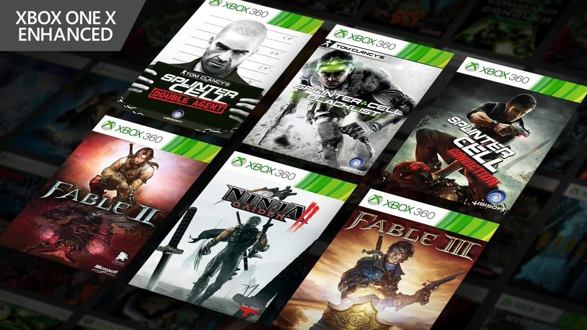 Fable and Splinter Cell Series Receive Xbox One X Enhancements