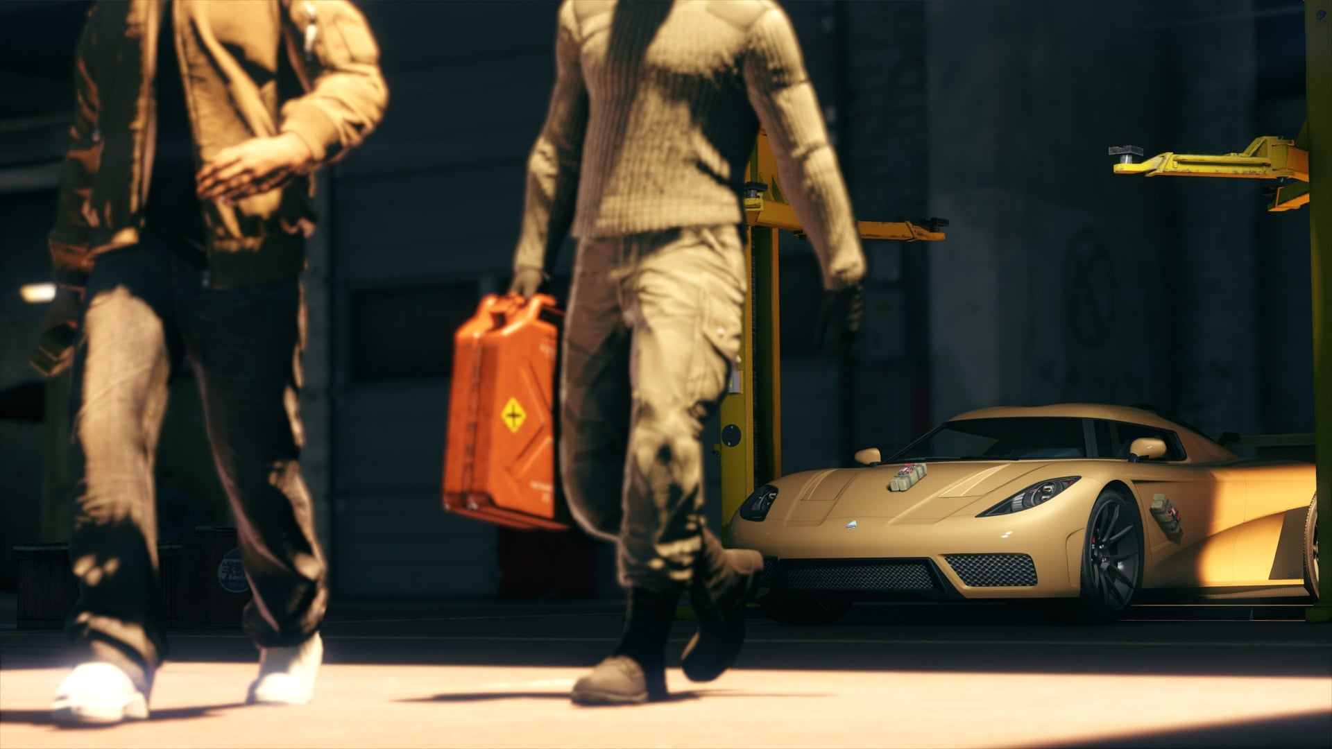 Take on Simeon's Premium Deluxe Repo Work in GTA Online