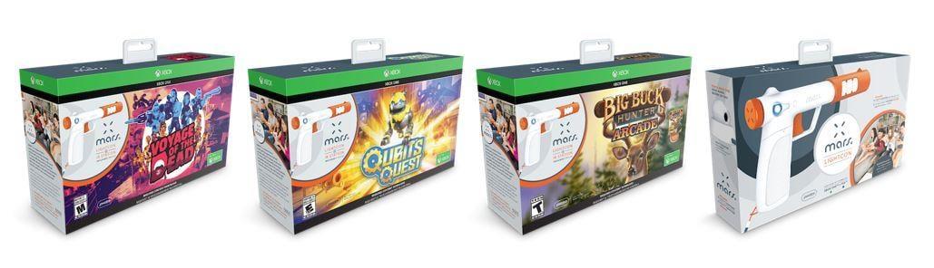 El accesorio ideal para nostálgicos, la pistola MARS LIGHTCON compatible con Xbox One