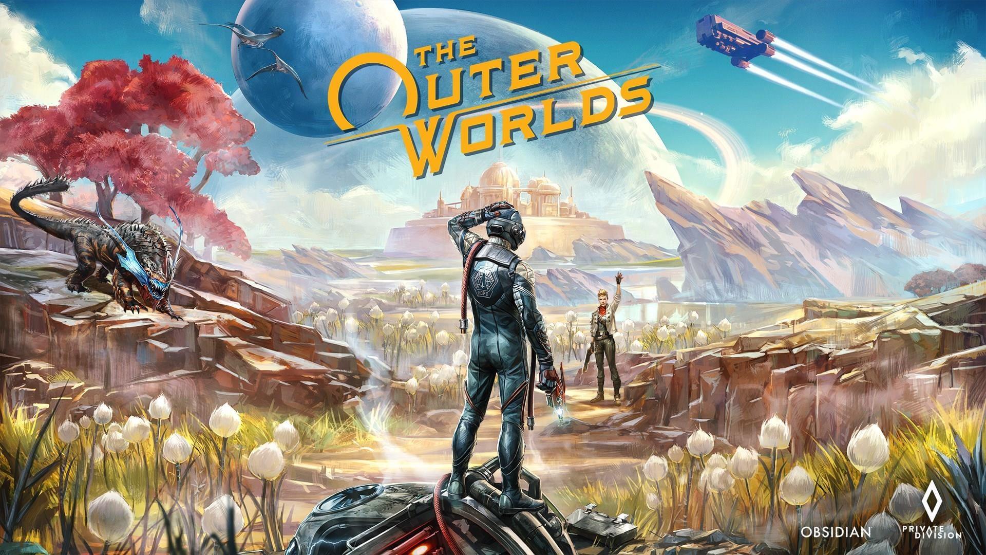 The Outer Worlds ~ TitledHeroArt