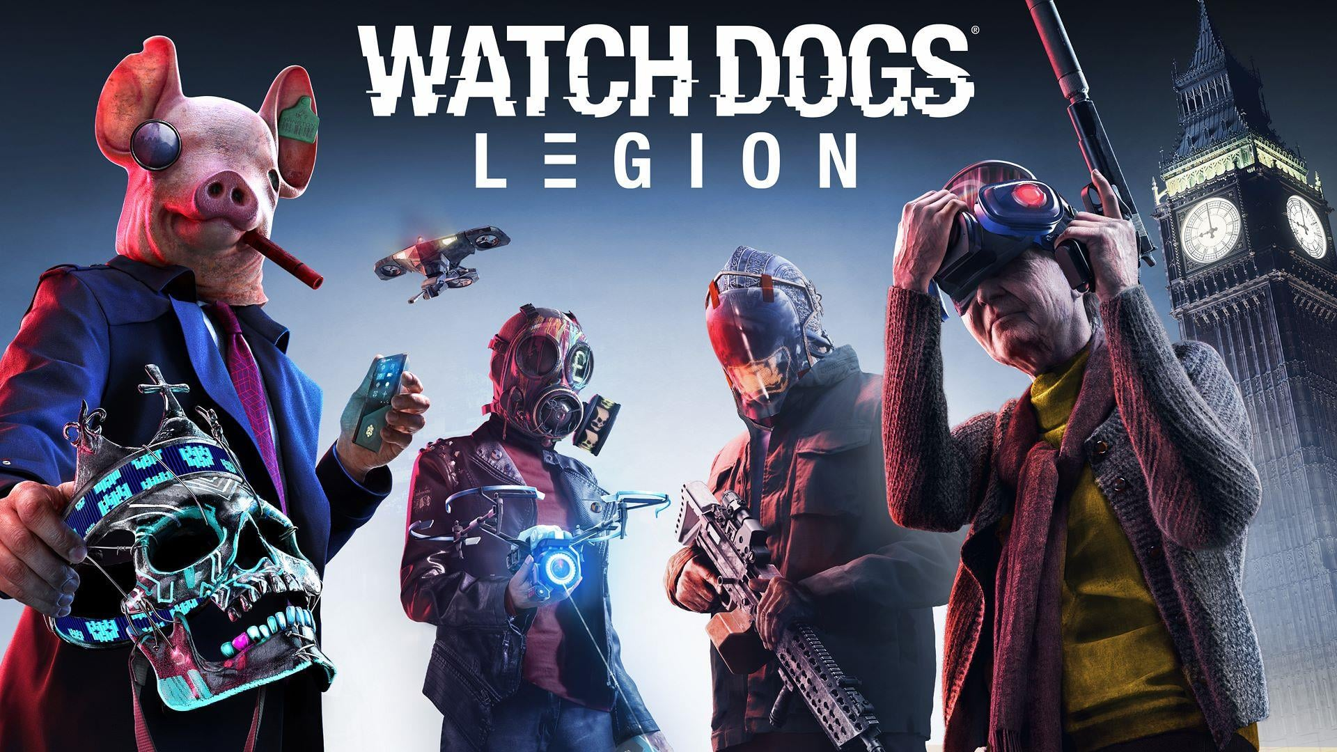 Watch Dogs: Legion gets an October release date and new trailer
