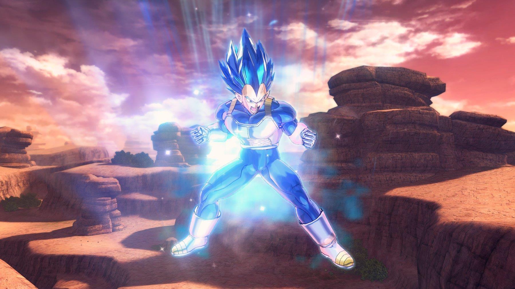 Dragon Ball Xenoverse 2 Introduces Vegeta SSGSS Evolved