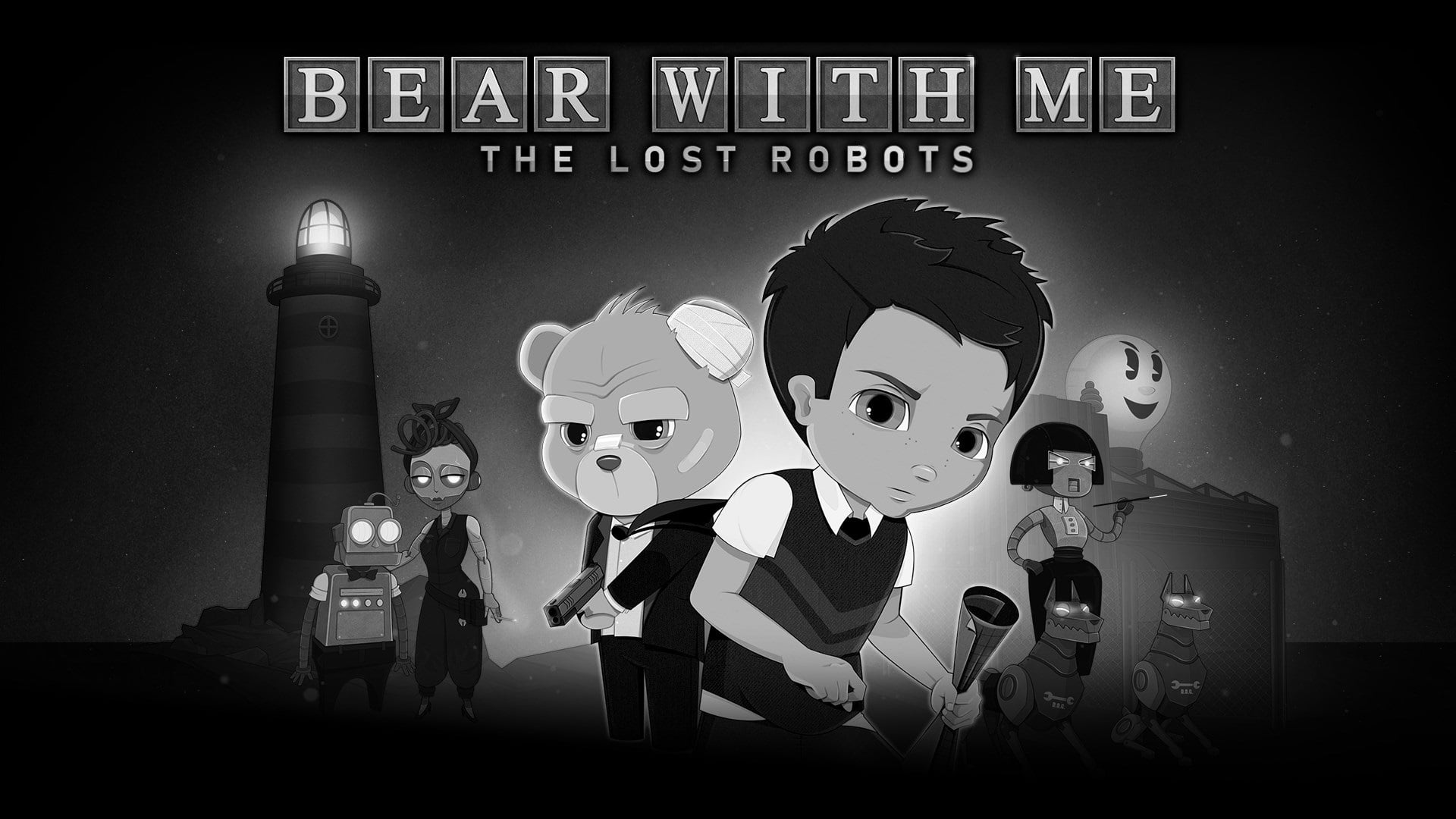 Bear With Me: The Lost Robots Achievements