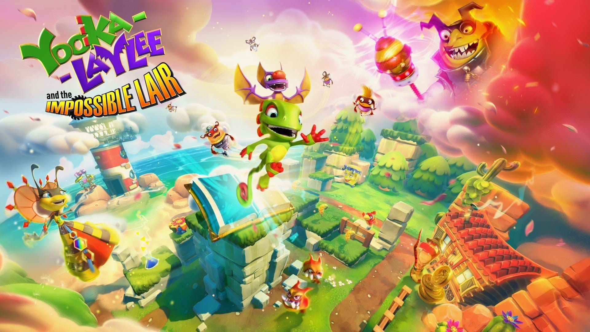 Yooka-Laylee and the Impossible Lair Achievements