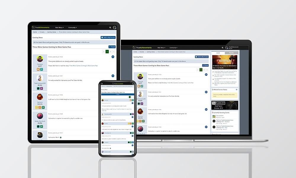 New responsive forums - light theme