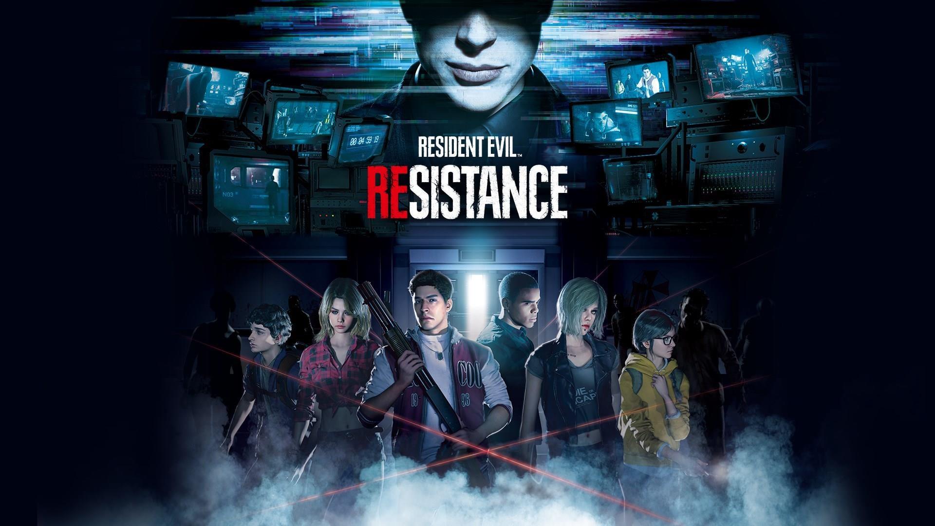RESIDENT EVIL RESISTANCE ~ TitledHeroArt
