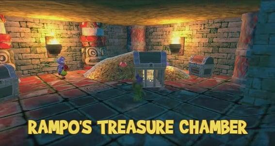 The Lost Treasure - Lady Leapsalot