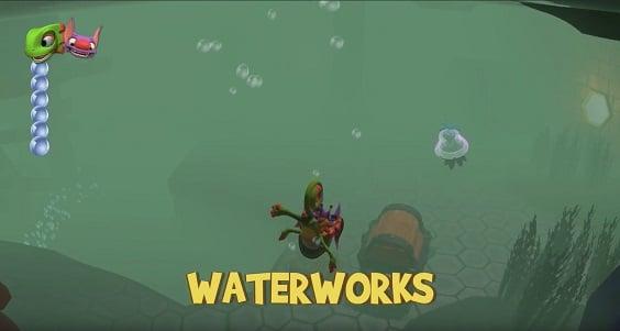 Underwater Time Trial