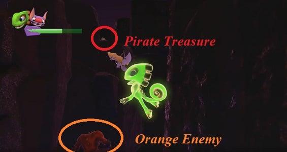 Glitterglaze Pirate Treasure