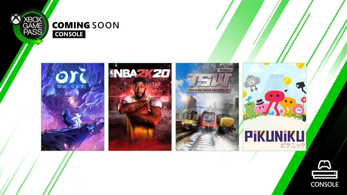 Xbox Game Pass games coming soon