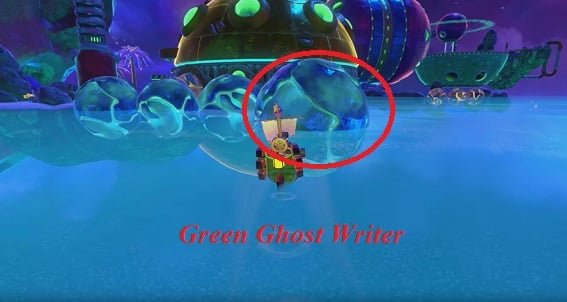 Galleon Green Ghost Writer