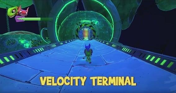 Velocity Terminal